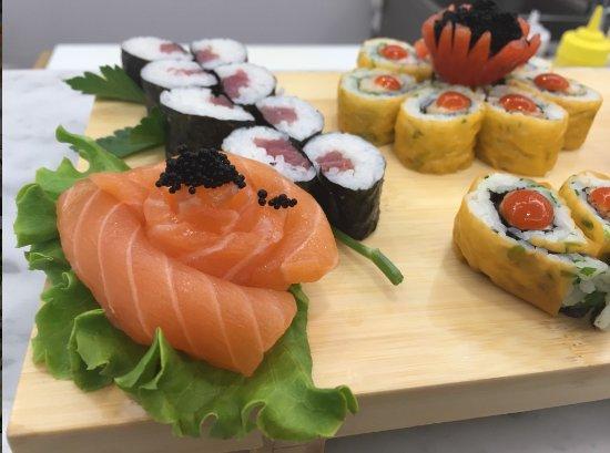 Ristorante Tesoro: assortimento di sushi