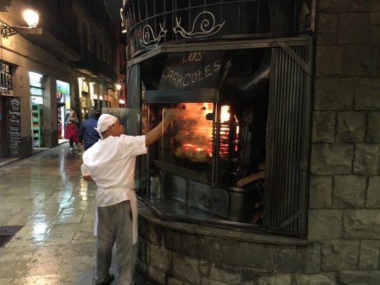 Photo of Mediterranean Restaurant Los Caracoles at Calle De Los Escudellers, 14, Barcelona 08002, Spain