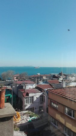 Sultan Hostel : Really nice view from room 403