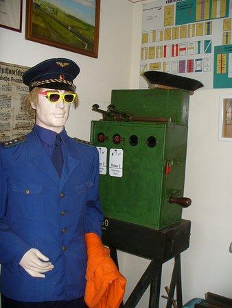 Lunzenau, Alemania: Im Museum, alter Teil eines Blockwerkes