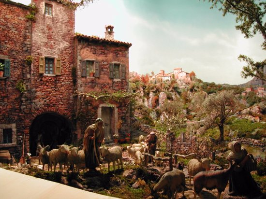 Gazzano, Italien: presepi in mostra