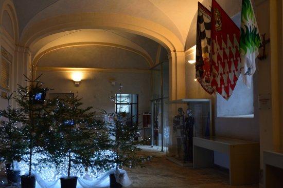 Palazzo Chigi : Piano terra in allestimento natalizio