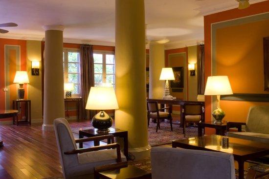 Villa Maly: Lobby - reception