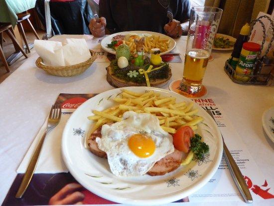 Innertkirchen, Schweiz: Mittagsmenue, sehr günstig!