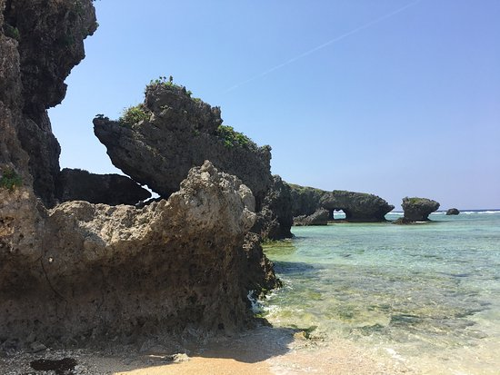 Cape Maeda / Cape Maeda park: This is a great place to go snorkeling, learning to surf or dive