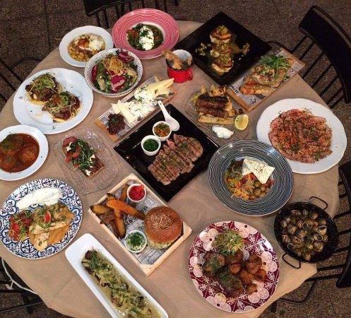 Galatsi, Grecja: menu