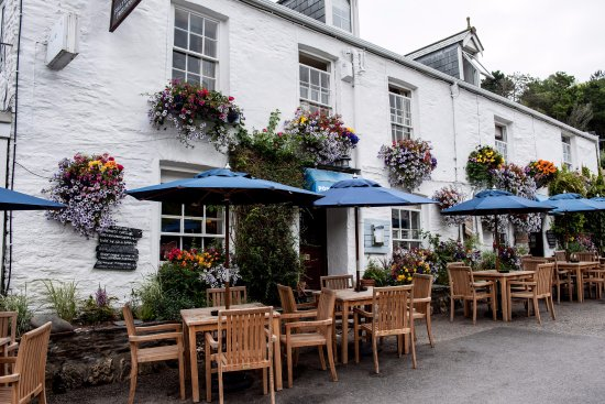 The Port Gaverne Hotel, near Port Isaac, Cornwall