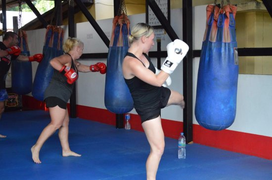 Supa Muay Thai: Young or old, it's a great experience for families, friends or individuals.