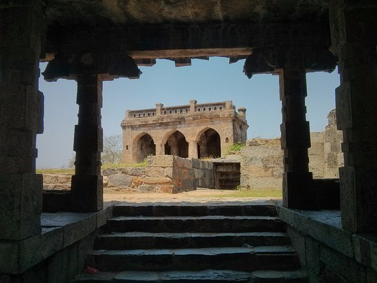 ‪‪Perambalur‬, الهند: Mosque like structure at the fort‬