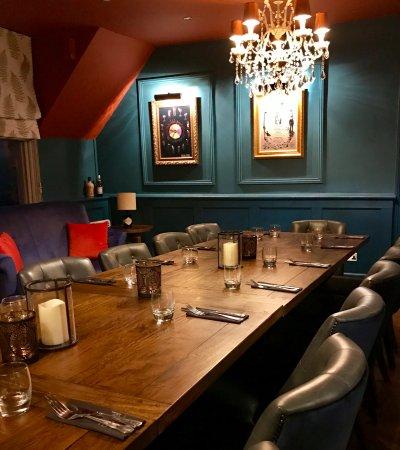 Restaurant at the Angel Inn Hotel