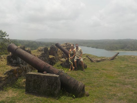 Fort San Lorenzo: mouth of Charges river