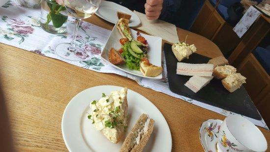 Hoghton, UK: Tasty sandwiches quiche and pie!