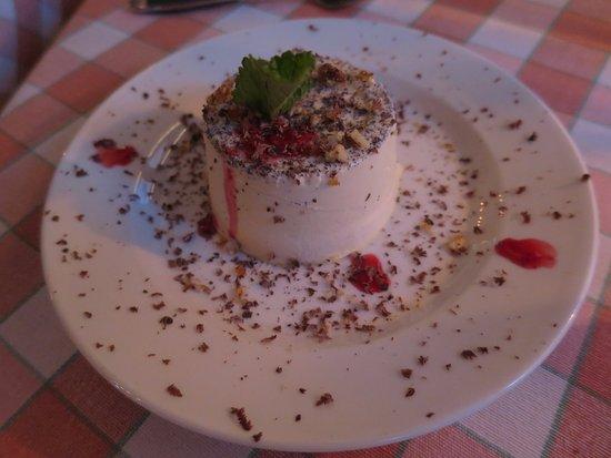 Italiano : Dessert: pannacotta