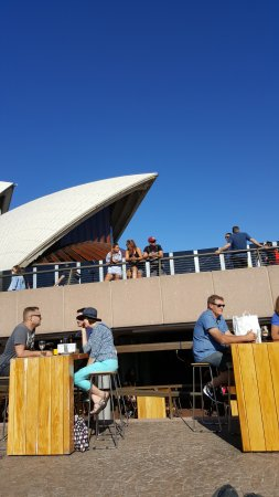 Sydney Opera House: From the Opera Kitchen Bar