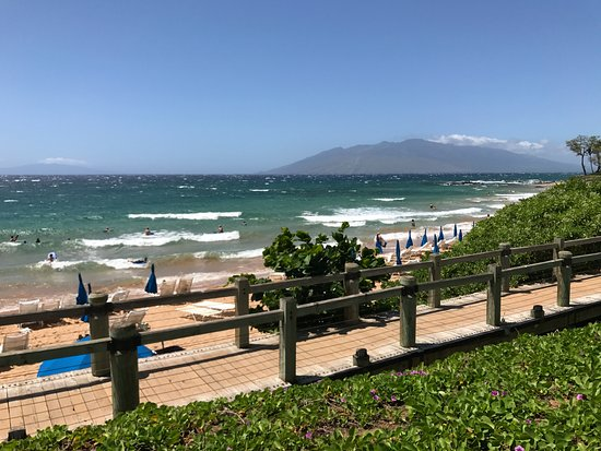 Andaz Maui At Wailea Resort Beach From Hotel Lawn