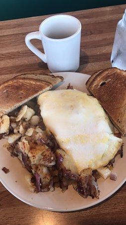 Rise N Shine Diner: Western egg white omelette with homefries!