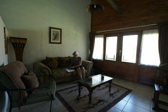Elephants Footprint Lodge: kamer