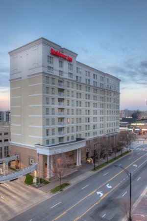 Residence Inn Charlotte Uptown : Between the Charlotte Knights Baseball and Carolina Panther's Football