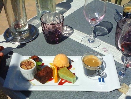 Le Grain de Sable : café gourmand