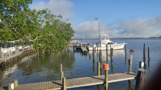 Apalachicola River Inn: Views from first floor walkway