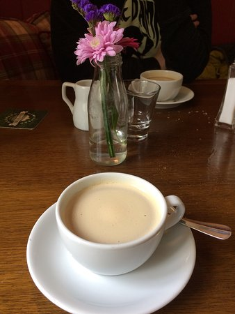 Brigsteer, UK: Good coffee