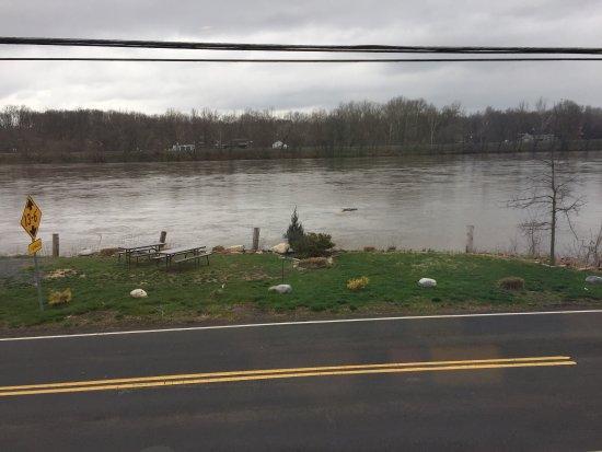 Yardley, PA: After a heavy rain