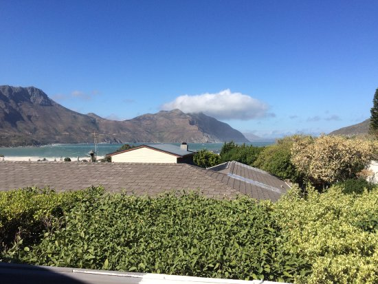 Hout Bay View: Amazing view from my room (room 3)