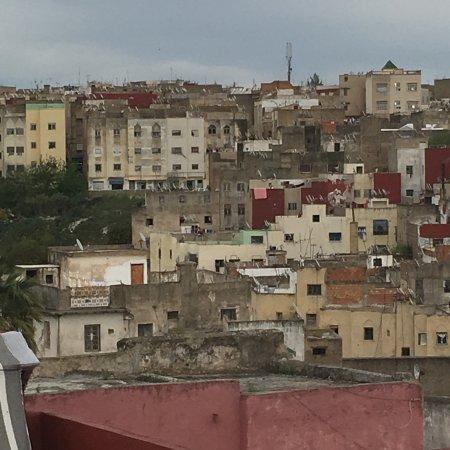 Palais Amani : a rooftop view