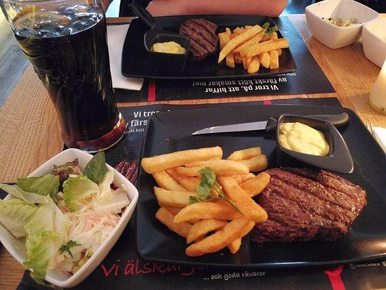 Jensens Boefhus Kista Galleria: Lunch Beef