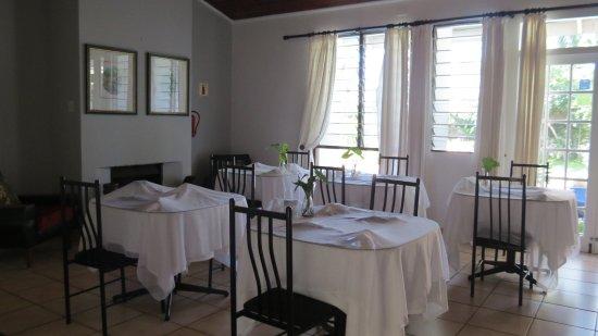 Igwalagwala Guest House: Breakfast Room