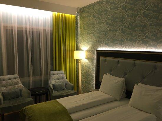 Hôtel agréable et bien situé