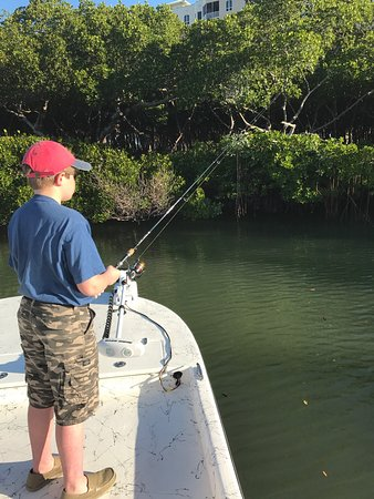 Picture of flats hound fishing charters for Bonita springs fishing charters