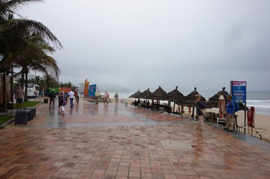 My Khe Beach Boardwalk On The