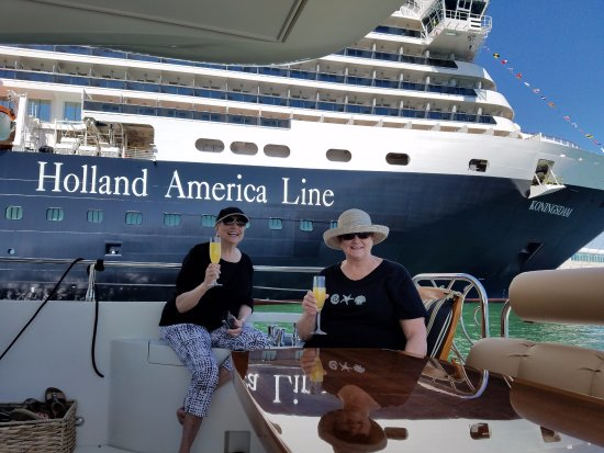 Coastal Yacht Tours: Brunch on the Yacht celebrating a 50th anniversary