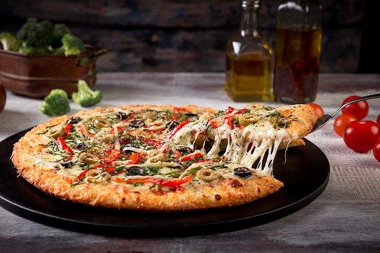Salvator's Pizza: Pizza Vegetariana Gourmet