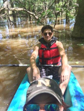 Pearl River, LA: tandem kayaking