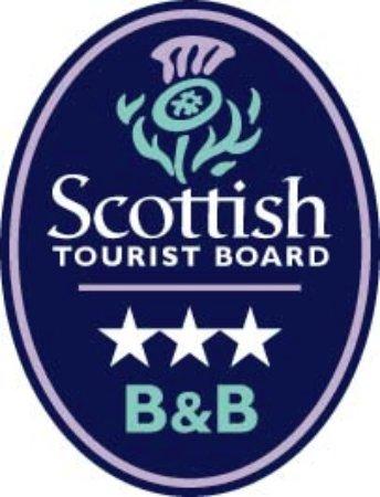 Dunivaig B&B: Visit Scotland Tourist Board 3 Star Grading