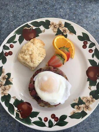 Lake Lure, NC: my breakfast