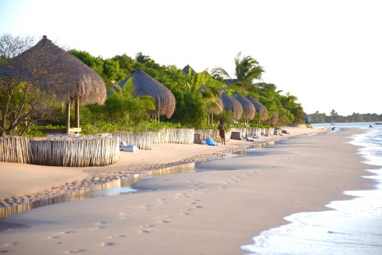 Benguerra Island, Mozambique: The Beach in front of our Villa