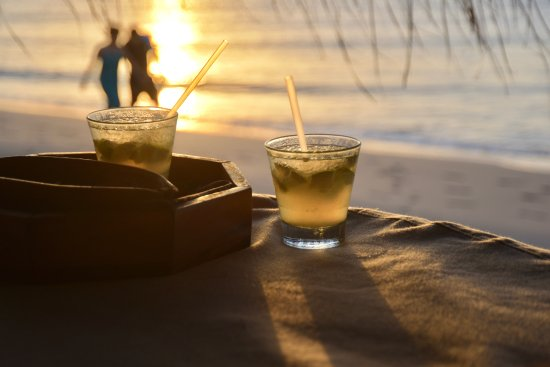 Benguerra Island, Mozambique: Romantic moments and cocktail hour