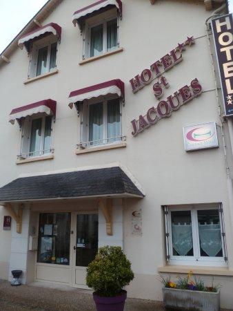 Saint Jacques: Facade de l'hôtel