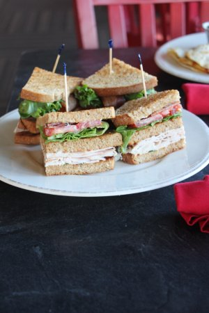 Vergennes, VT: Basin Harbor Club Sandwich