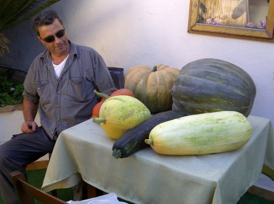 Schiazzano, Italy: prodotti locali
