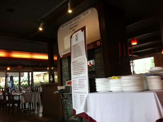 James Street Cafe & Grill: While having a chai tea