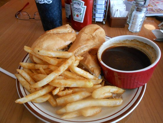 South Cape Diner: french dip