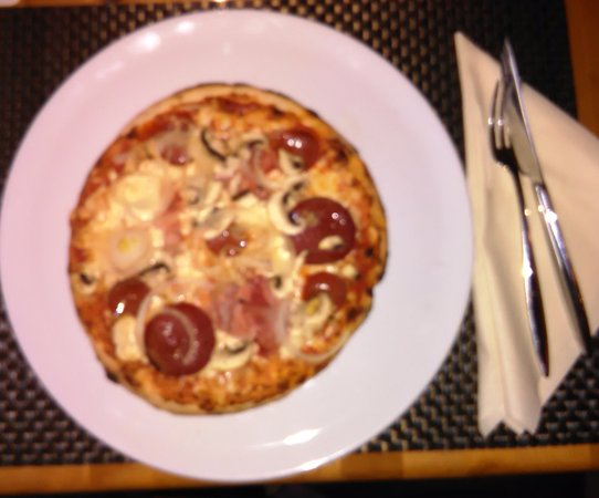 Solms, Germany: Die leckere Pizza