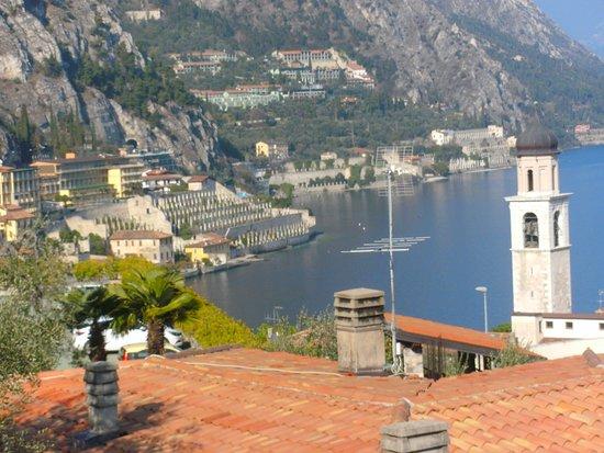 Aussicht Vom Balkon Bild Von Hotel Royal Village Limone Sul Garda