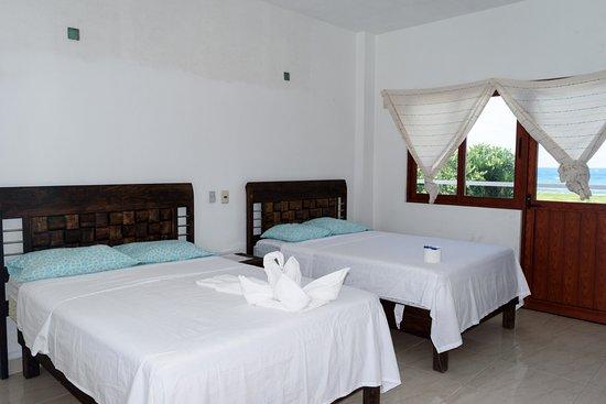 Kao beach hotel tecolutla desde 494 veracruz for Cuanto miden las camas matrimoniales