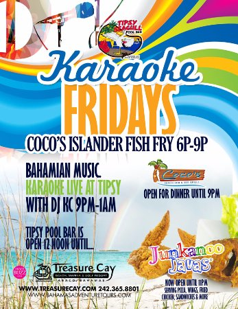 Treasure Cay, Great Abaco: Fish Fry Fridays