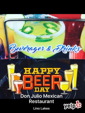 Lino Lakes, MN: Happy beer 🍻 day 🇲🇽